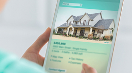 Real Estate shopping on iPad